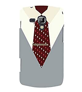 Manager Dress Code 3D Hard Polycarbonate Designer Back Case Cover for Samsung Galaxy S Duos 2 S7582