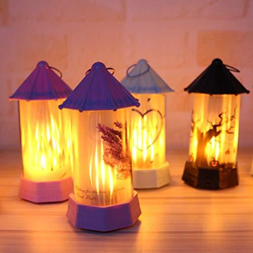 Indoor Christmas Decor Requisiten - Weihnachtsdekoration, Halloween Xmas Simulation Flamme Licht