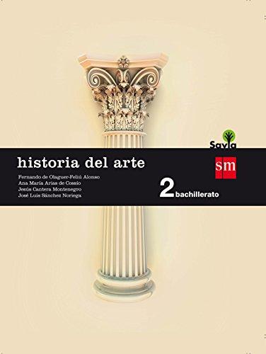Portada del libro Historia del arte. 2 Bachillerato. Savia - 9788467587180