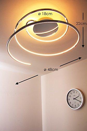 LED Deckenleuchte Ringos Spirale 24 Watt – 1300 Lumen - 2