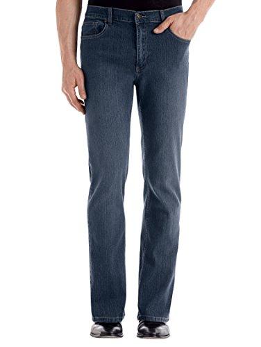 Herren 5-Pocket Jeans Denim mit Elasthan Pflegeleicht by Roger Kent Blue Stone