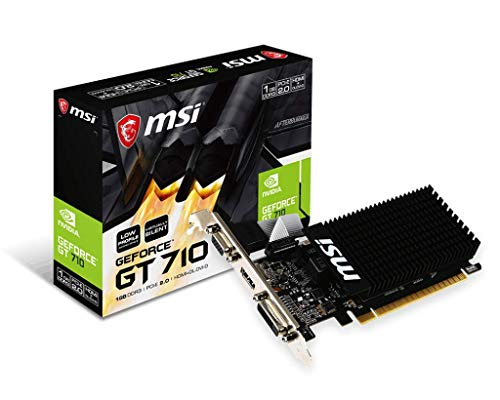 MSI - GT 710 1GD3H LP NVIDIA GeForce GT 710 1GB