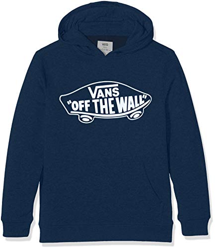 Vans Jungen Kapuzenpullover OTW Pullover Fleece, Blau (Dress Blues-White Outline Pok), 170 (XL)