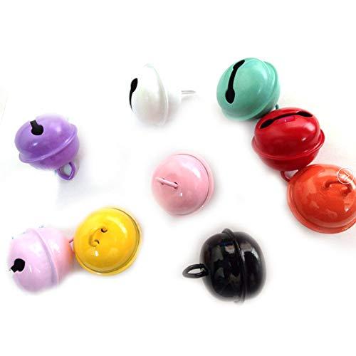 Farbige Kostüm Helle - 5pcs Verschiedene Art mischte Reizende Kleine farbige Haustier-Bell Charm Hell für Hund/Katze-Kragen (Farbe Random)