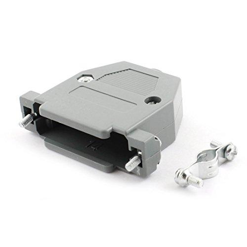 sourcingmapr-2-pcs-plastique-gris-protecteur-cas-couvre-capote-pour-db15-connecteur-15-broches