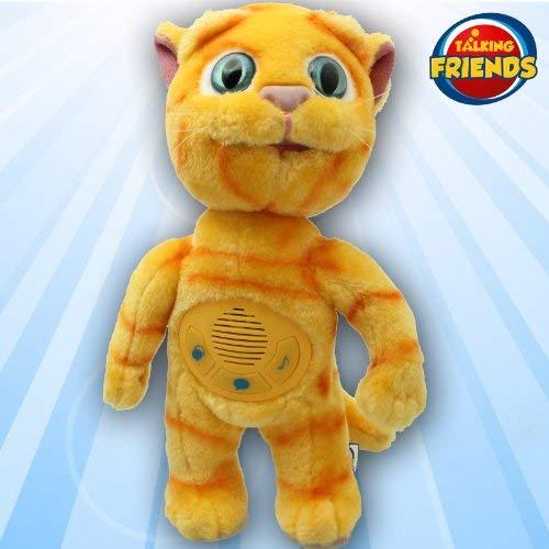 Talking Tom and Friends 5292522136748 Talking Friends Plüsch Toy Ginger Superstar - Ginger Tom