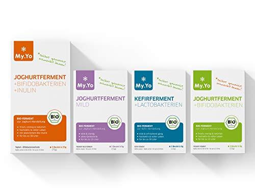 Bio-Joghurtfermente, Set mit 4-Packungen à 3 Beutel, von My.Yo
