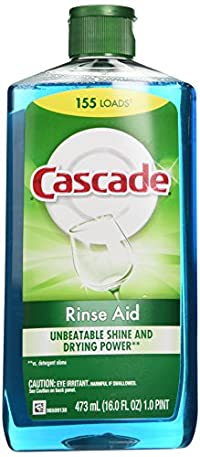 Cascade Rinse Aid, Dishwasher Rinse Agent, 16 Fl Oz