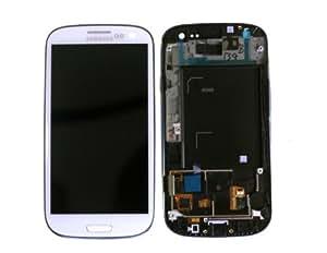 Samsung GH97-13630B - Mea Front Octa LCD White - GS3 I9300 - Warranty: 1M