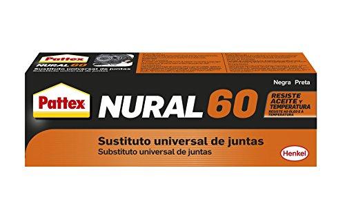Pattex Nural 60, sustituto universal de juntas, color negro, 1 x 40 ml