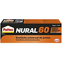 Pattex Nural 60, sustituto universal de juntas, color negro, 1 x 40 ml