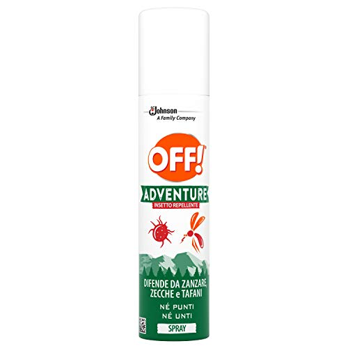 Off! Adventure - Insecto Repelente Spray - 2 paquetes de 100 ml