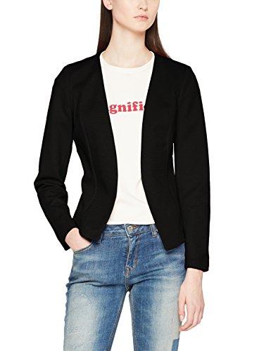 ONLY Damen Anzugjacke Onlanna Short Blazer Noos Tlr, Schwarz (Black Black), 36 (Blazer Schwarzer Jeans)