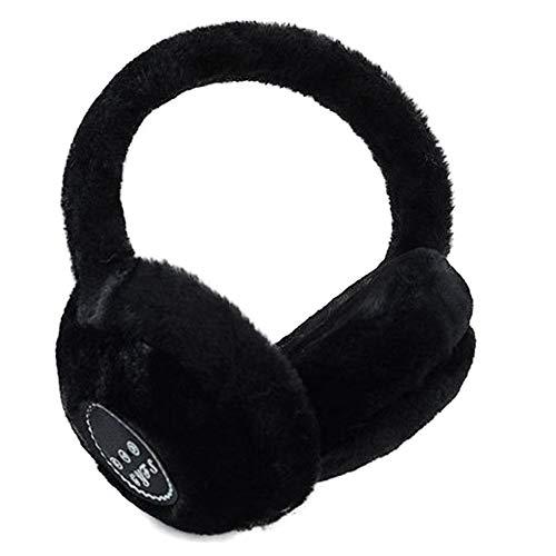 Globalqi Musica Bluetooth Orejeras Vistiendo Auriculares