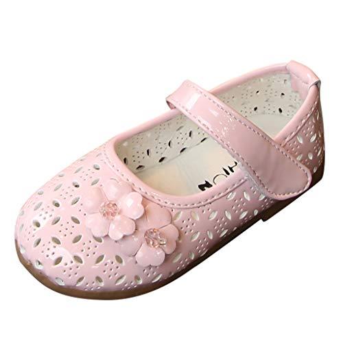 squarex Kleinkind Kleinkind Baby Mädchen Süße Blume Schuhe Kristall Aushöhlen Schuhe Kinder Prinzessin Schuhe Sandalen Einzelnen Schuhe -