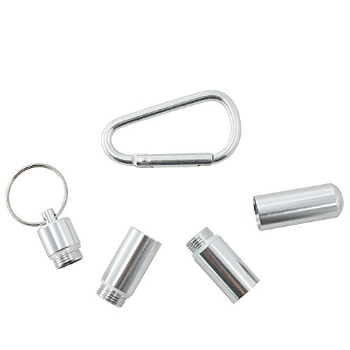 caso stuzzicadenti porta stuzzicadenti tasca portatile, metal Pill box Keychain, aluminum portasigarette large small