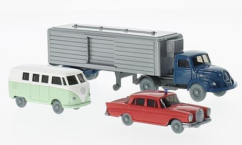 Set WIKING-VERKEHRS-MODELLE Nr.59:, 0, Modellauto, Fertigmodell, Wiking / PMS 1:87