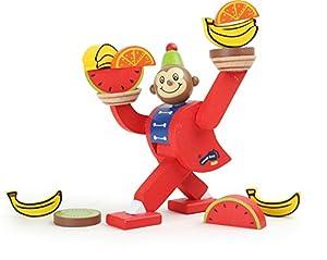 Legler acto de Equilibrio Madera de los niños del Mono del Circo