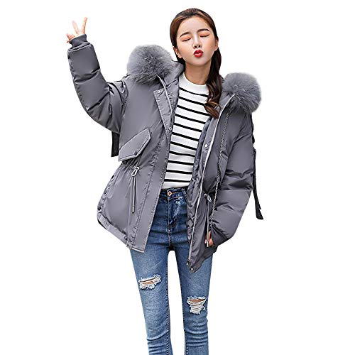 Tonsee  Womens Jacket, Fashion Warmful Nouvel Hiver Long Down Down Coton Parka Manteau À Capuche Veste Matelassée Outwear