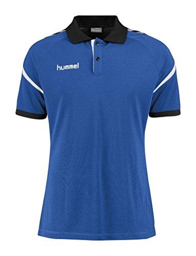 Hummel Herren Auth. Charge Functional Polo Poloshirt true blue