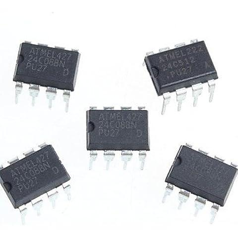 XMQC*A24C08 EEPROM di serie 2.7-5.5V 8K di memoria (Mod Memoria Di Sistema)