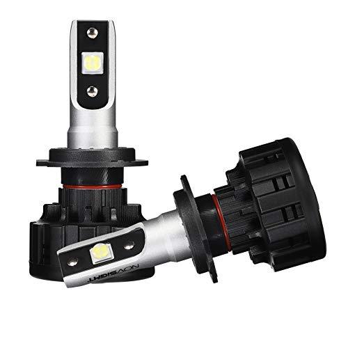 Preisvergleich Produktbild Scheinwerfer Glühbirnen Umbau Kit,  Hochleistungs-Beleuchtung 16000LM,  Lampen Scheinwerfer Scheinwerfer Vorderlicht Glühbirnen Off-Road Car Zubehör 6500K High Beam IP68-Pack von 2, H7