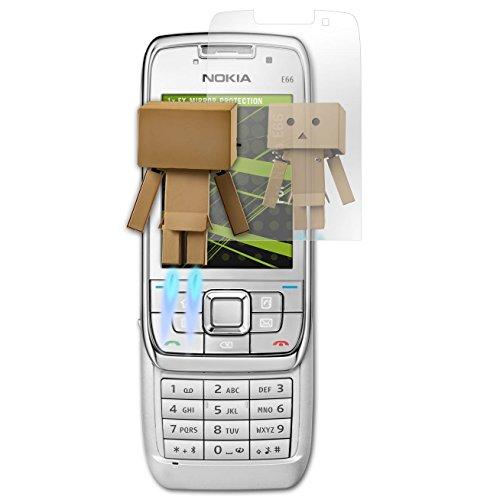 atFolix Displayfolie für Nokia E66 Spiegelfolie, Spiegeleffekt FX Schutzfolie