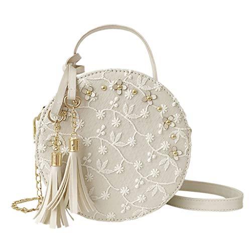 OIKAY Mode Damen Tasche Handtasche, Schultertasche Umhängetasche Mode Neue Handtasche Frauen Umhängetasche Schultertasche Strand Elegant Tasche Mädchen 0410@058