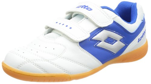 lotto-sport-unisex-child-kick-ii-jr-seu-football-shoes-white-weiss-white-blue-size-36