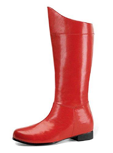Stiefel - Hero-100 rot 44 bis 45 (Superhelden Stiefel)