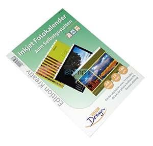 Foto-Kalender Fotokalender-SET 2010 f.Inkjet-Drucker A4
