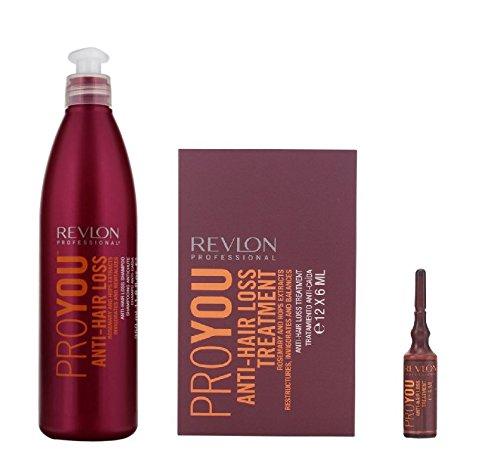 Revlon Pro You Anti Hair Loss Shampoo 350ml and Anti Hair Loss Treatment 6ml (12)