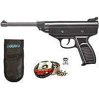 Pack pistola Perdigón Zasdar S3 + Funda Portabalines + balines. 17683/38203/23054