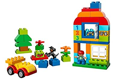 LEGO 10572 Duplo Creative Play All-in-One-Box-of-Fun - Multi-Coloured
