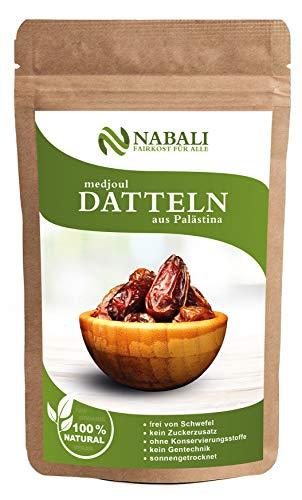 Medjoul - Medjool Datteln aus Palästina 400 g | Qualitätsware - 100% naturell | naturbelassen |...