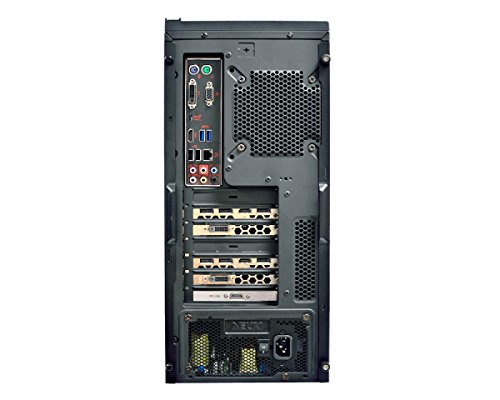 MSI Codex 004EU 3.4GHz i7–6700Desktop schwarz Desktop-PC (i7–6700, Intel Core i7–6x xx, LGA1151, Smart Cache, 64Bit, R0) - 5