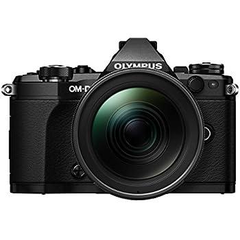 """Olympus OM-D E-M5 Mark II - Cámara EVIL de 16.1 Mp (pantalla 3"""", estabilizador, grabación de vídeo), color negro - Kit cuerpo cámara con objetivo M.ZUIKO EZ 12 - 40mm f/2.8"""