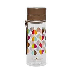 Beau & Elliot Confetti Hearts Drinking Water Bottle with Strap 500ml