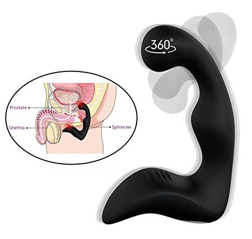 Prostata Vibrator Perineum Stimulator Anal Vibrator für Herren Massager Stimulation G-Punkt mit 9 Frequenzen