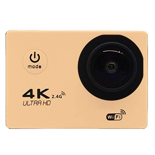 Sportkamera 4K Bewegungskamera dv Motion Kamera Mini-Kamera-Recorder Kamera 1080P,Beige