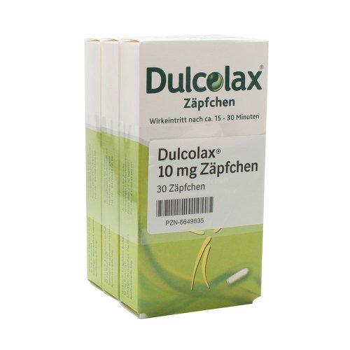Dulcolax Suppositorien, 30 St. Zäpfchen