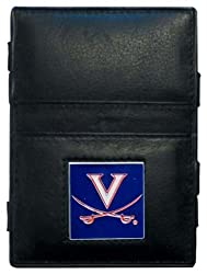 NCAA Virginia Cavaliers Leather Jacob's Ladder Wallet