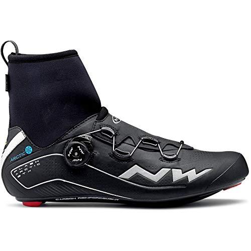 Northwave Flash Arctic GTX Winter Rennrad Fahrrad Schuhe schwarz 2020: Größe: 43.5