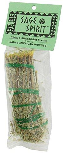 Smudge Wand Sage/Sweetgrass - Sage Spirit - 1 - Each by Sage Spirit