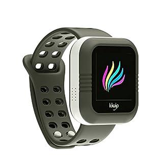 Kiwip – Reloj de Pulsera Inteligente – U Watch Para Niño – Se Empareja con tu Teléfono – Gris