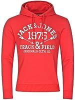 Jack and Jones Men's Buy Always Hooded Long Sleeve Hoodie