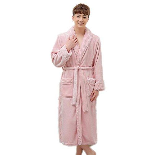 CHUNHUA Automne coloré hommes et femmes ouatine de corail robe de bain peignoir polaire services à domicile pyjamas , e , s/m i
