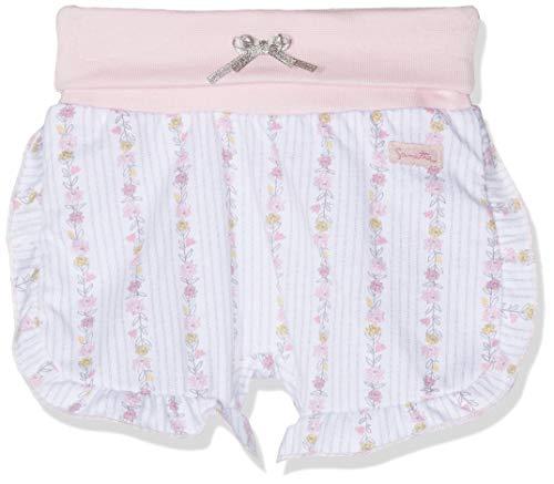 Sanetta Baby-Mädchen fiftyseven Shorts Hose, Weiß (White 10), 80 (Herstellergröße: 080)
