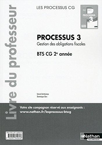 Processus 3 BTS CG 2e année