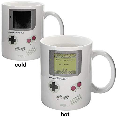Nintendo - Game Boy Classic - Farbwechsel-Tasse   Offizielles Merchandise